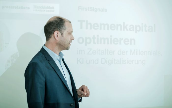 Oliver Heyden von pressrelations gewährt im Interview Einblicke in die Research-Methode FirstSignals. (Foto: pressrelations)